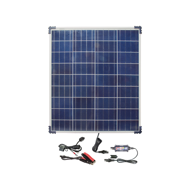 Batterieladegerät OptiMate solar + 80W Solar-Panel